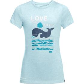 Jack Wolfskin Ocean T-shirt Kinderen, blauw